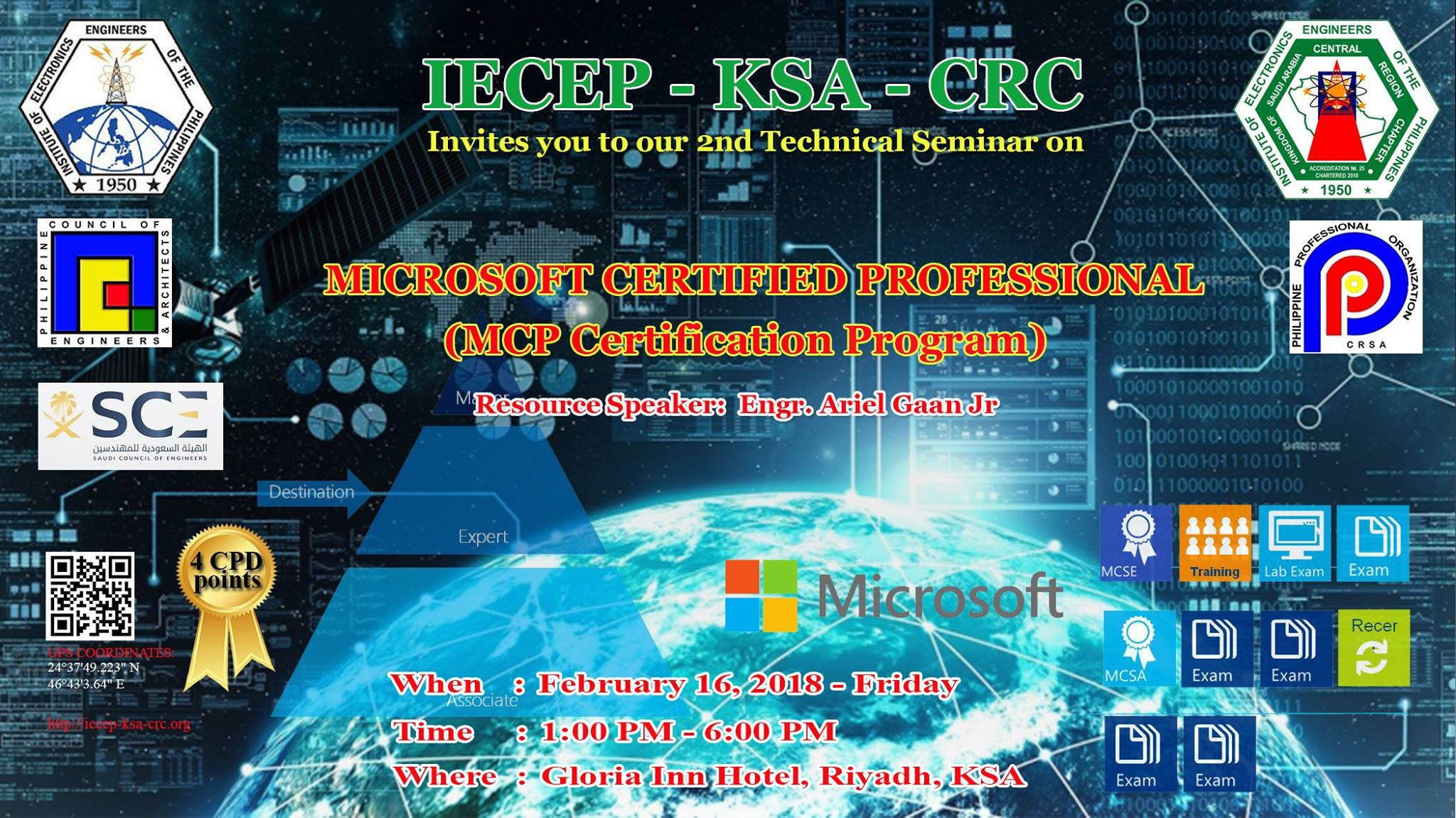 2nd Technical Seminar on Microsoft Certified Professional